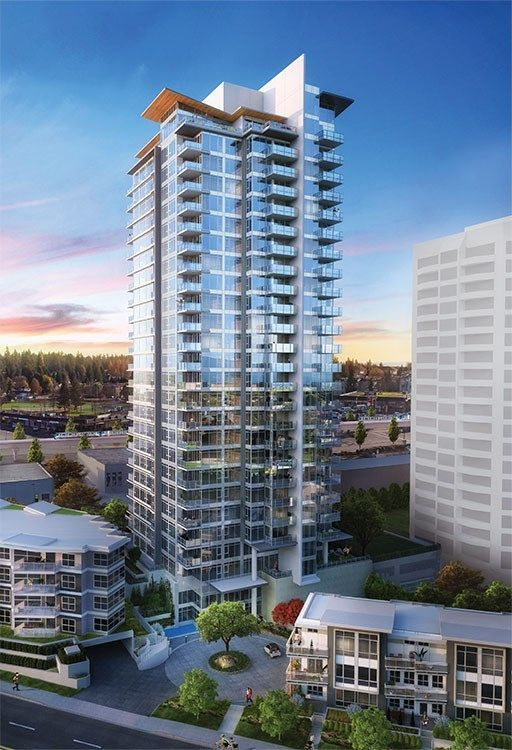 "Main Photo: 801 520 COMO LAKE Avenue in Coquitlam: Central Coquitlam Condo for sale in ""CROWN"" : MLS®# R2224862"