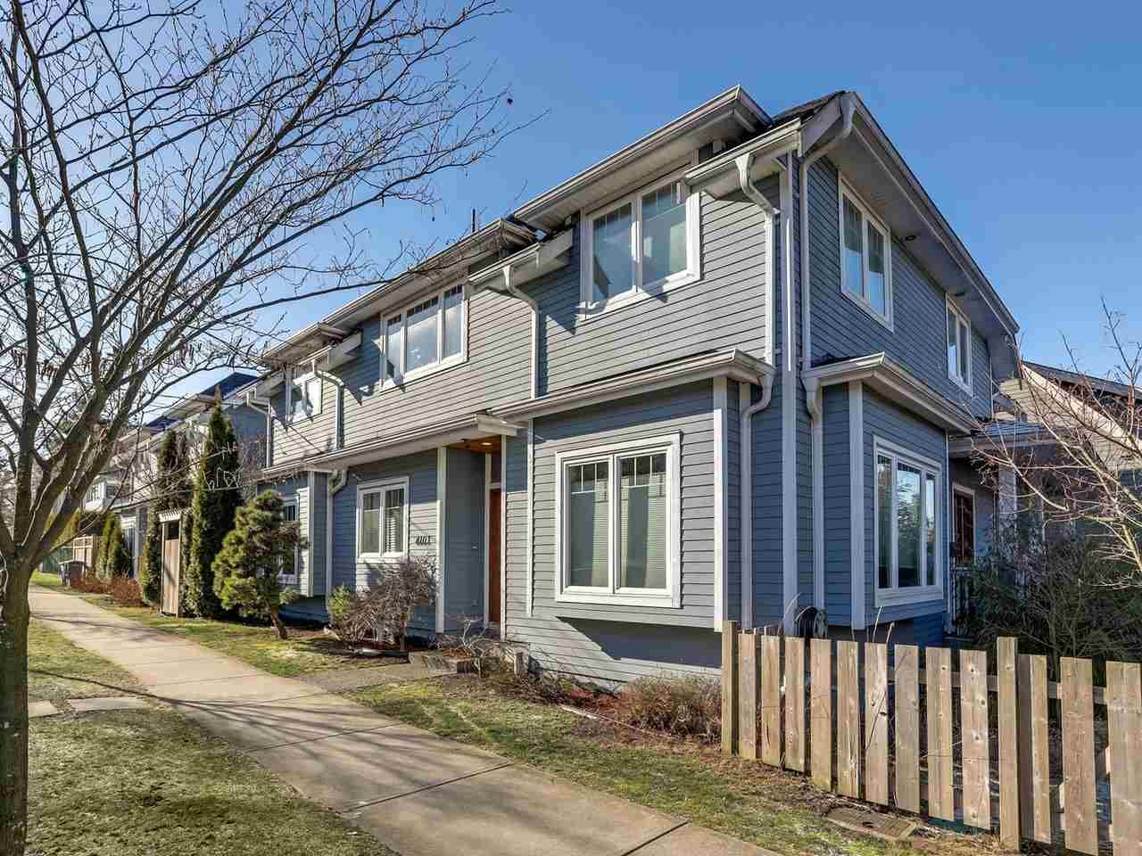 Main Photo: 4103 INVERNESS Street in Vancouver: Knight 1/2 Duplex for sale (Vancouver East)  : MLS®# R2339162