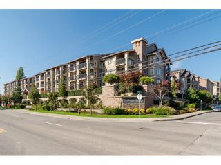"Photo 1: 408 21009 56 Avenue in Langley: Salmon River Condo for sale in ""Cornerstone"" : MLS®# R2534163"