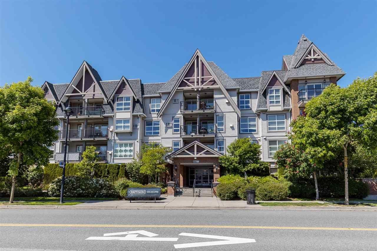 "Main Photo: 307 17769 57 Avenue in Surrey: Cloverdale BC Condo for sale in ""Cloverdowns Estate"" (Cloverdale)  : MLS®# R2584100"