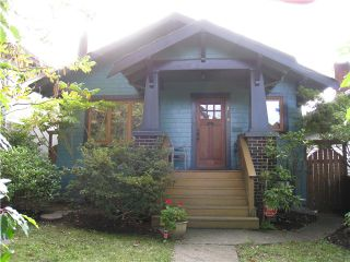 Photo 1: 1938 E 7th Avenue in Vancouver: Grandview VE House for sale (Vancouver East)  : MLS®# V1089448