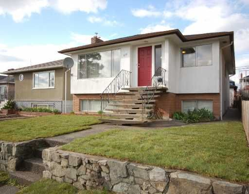 Main Photo: 519 E 56TH Avenue in Vancouver: South Vancouver House for sale (Vancouver East)  : MLS®# V761187