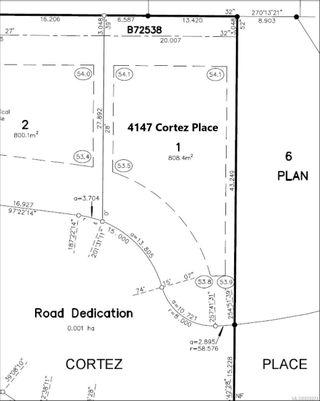 Photo 3: 4147 Cortez Pl in : SE Lambrick Park Land for sale (Saanich East)  : MLS®# 858074