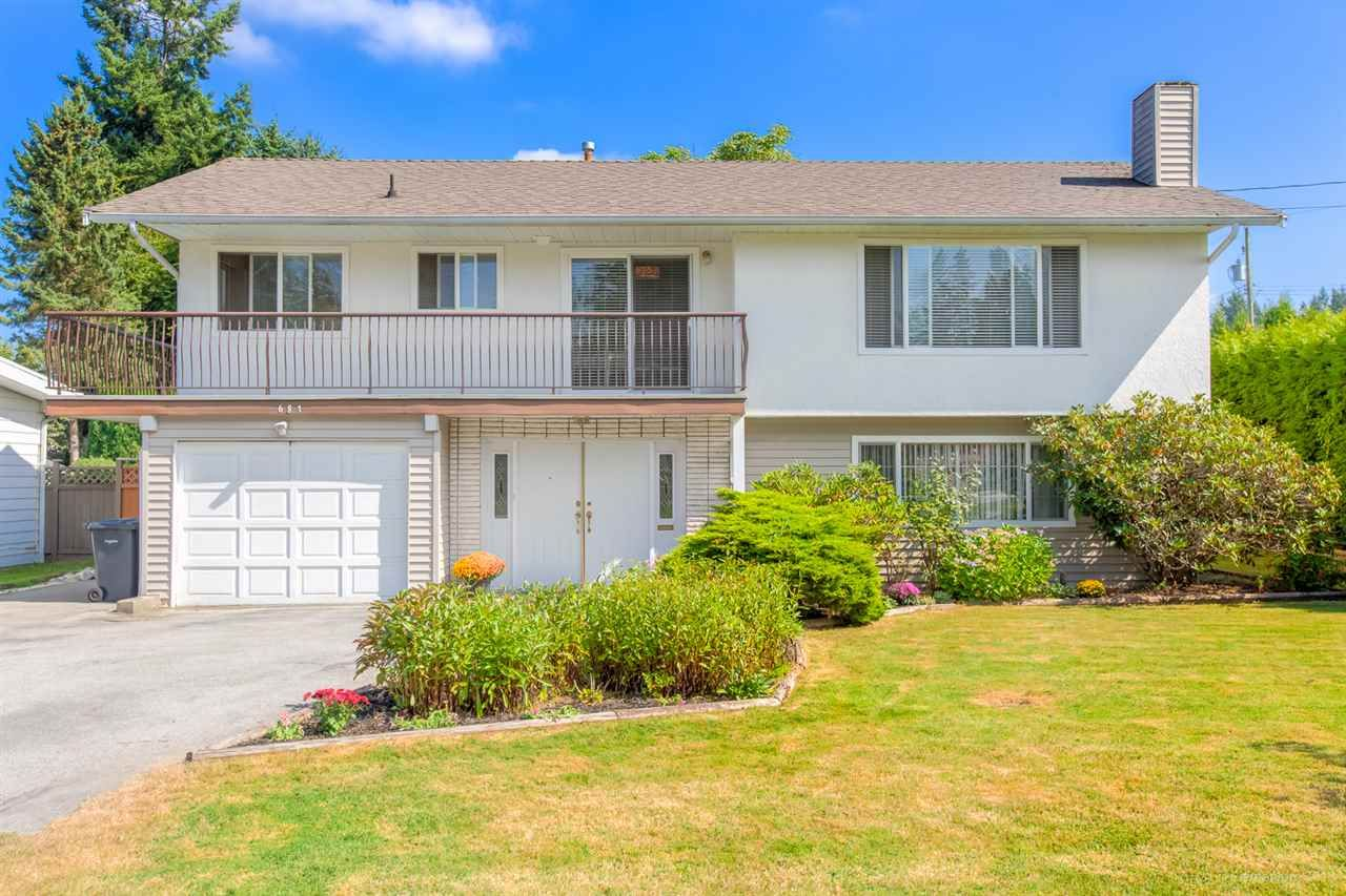"""Main Photo: 681 EASTERBROOK Street in Coquitlam: Coquitlam West House for sale in """"COQUITLAM WEST"""" : MLS®# R2403456"""