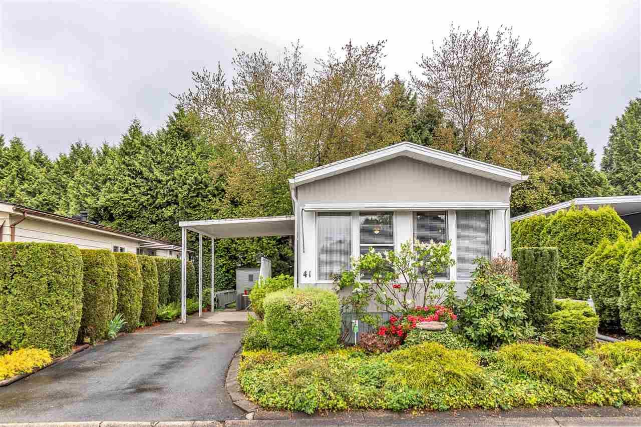 "Main Photo: 41 13507 81 Avenue in Surrey: Queen Mary Park Surrey Manufactured Home for sale in ""PARK BOULEVARD ESTATES"" : MLS®# R2575591"