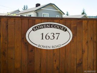 Photo 1: 5 1637 Bowen Rd in NANAIMO: Na Central Nanaimo Row/Townhouse for sale (Nanaimo)  : MLS®# 661687