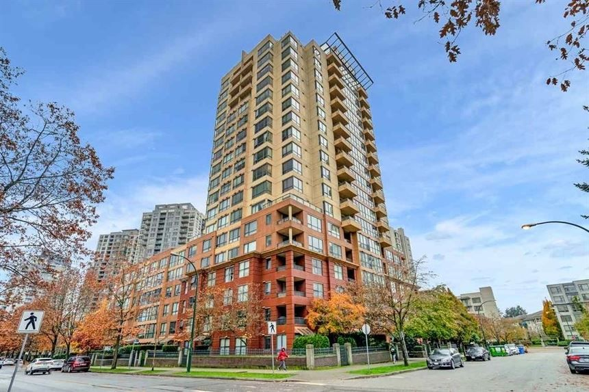 "Main Photo: 1806 5288 MELBOURNE Street in Vancouver: Collingwood VE Condo for sale in ""EMERALD PARK PLACE"" (Vancouver East)  : MLS®# R2538521"