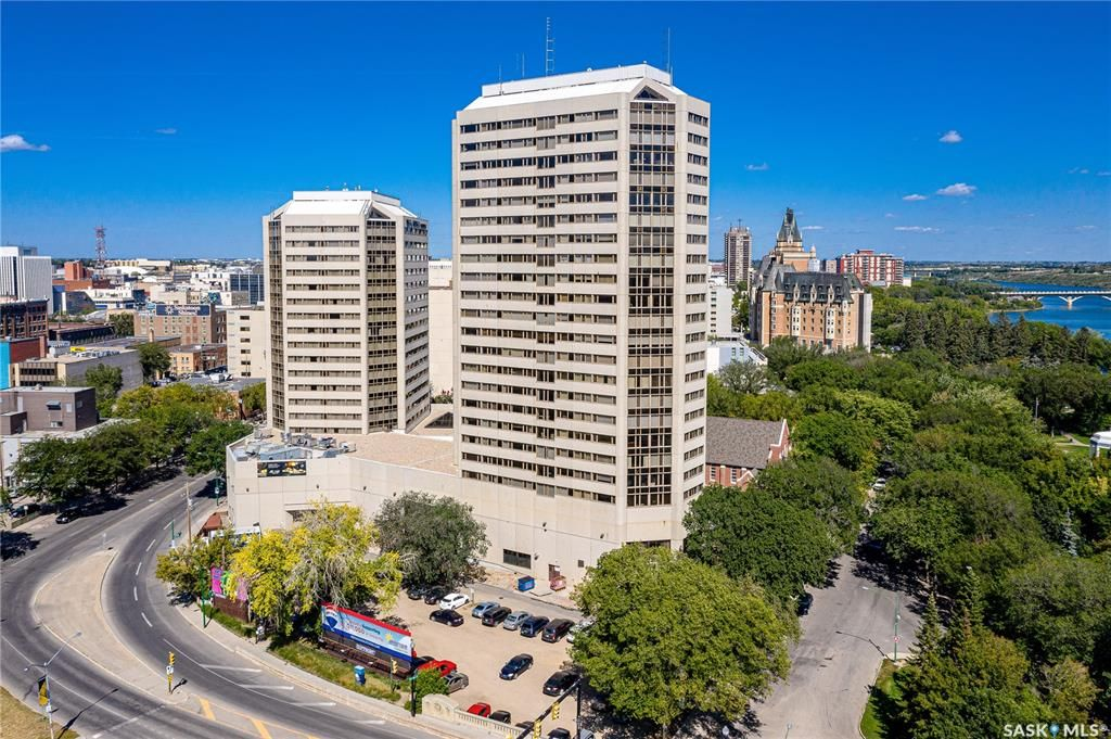 Main Photo: 840 424 Spadina Crescent East in Saskatoon: Central Business District Residential for sale : MLS®# SK843084