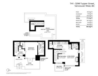 "Photo 33: TH1 3298 TUPPER Street in Vancouver: Cambie Townhouse for sale in ""The Olive"" (Vancouver West)  : MLS®# R2541344"