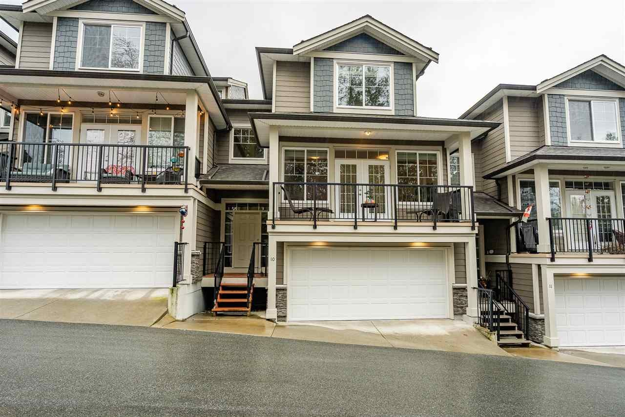 "Main Photo: 10 11384 BURNETT Street in Maple Ridge: East Central Townhouse for sale in ""MAPLE CREEK LIVING"" : MLS®# R2435757"