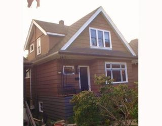 Photo 1: 742 11TH Ave in Vancouver East: Mount Pleasant VE Home for sale ()  : MLS®# V791172