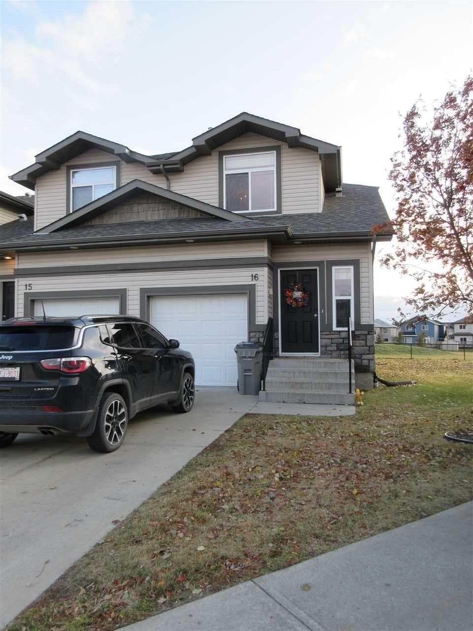 Main Photo: 16 9511 102 Avenue: Morinville Townhouse for sale : MLS®# E4247267