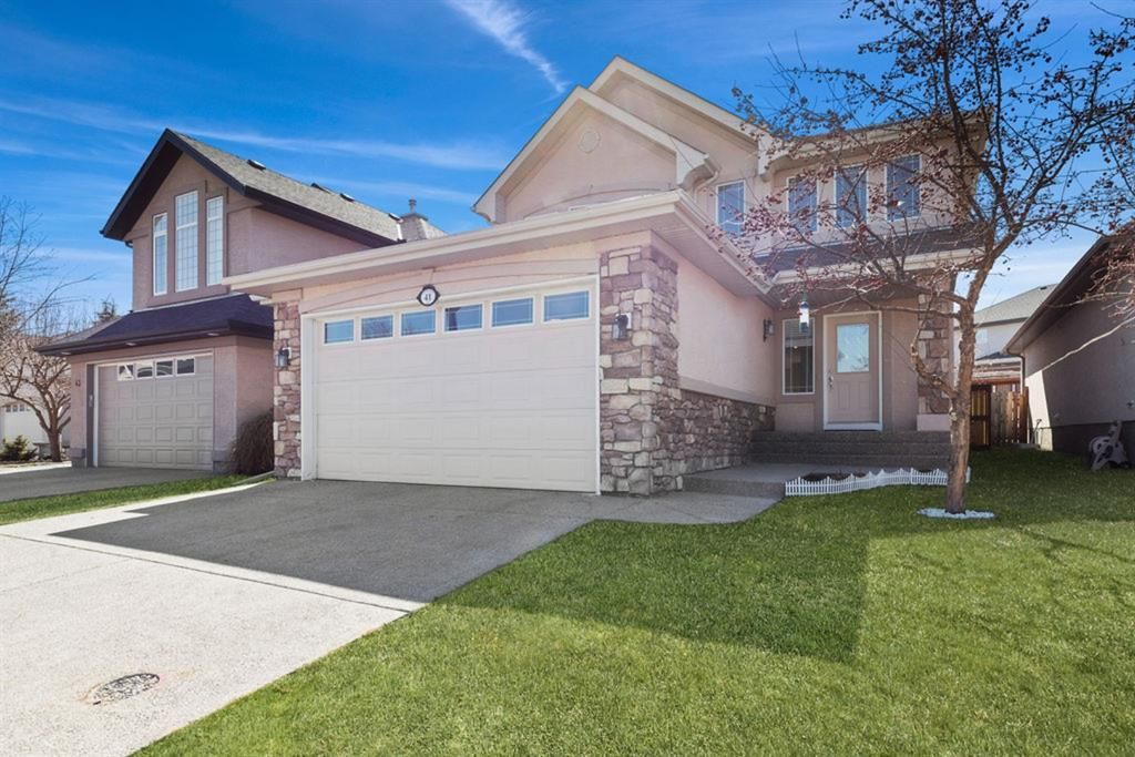 Main Photo: 41 Cranleigh Way SE in Calgary: Cranston Detached for sale : MLS®# A1096562
