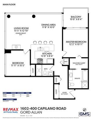 "Photo 20: 1602 400 CAPILANO Road in Port Moody: Port Moody Centre Condo for sale in ""ARIA 11"" : MLS®# R2587666"