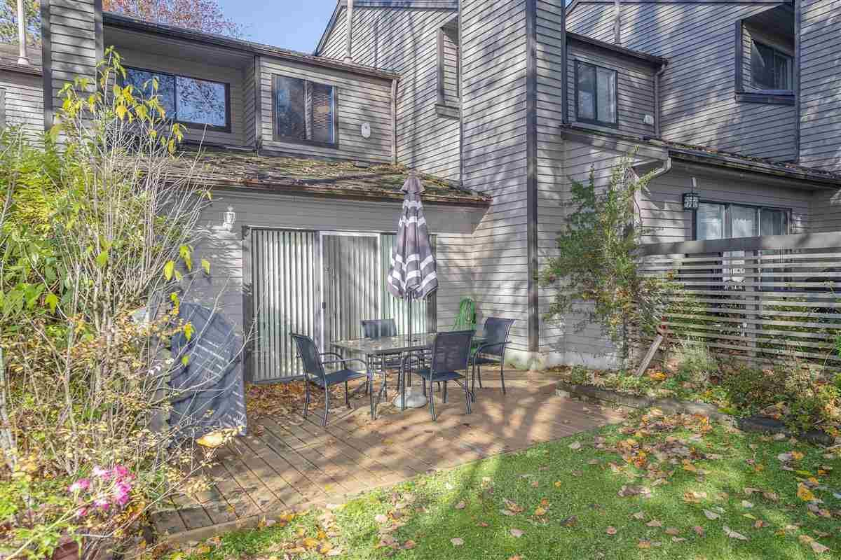 """Main Photo: 8588 WOODGROVE Place in Burnaby: Forest Hills BN Townhouse for sale in """"SF Village"""" (Burnaby North)  : MLS®# R2415941"""