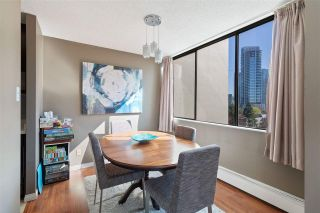 """Photo 6: 908 4105 MAYWOOD Street in Burnaby: Metrotown Condo for sale in """"Time Square"""" (Burnaby South)  : MLS®# R2570116"""