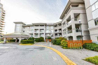 "Photo 1: 211 10533 UNIVERSITY Drive in Surrey: Whalley Condo for sale in ""Parkview Court - Whalley Pointe"" (North Surrey)  : MLS®# R2530385"