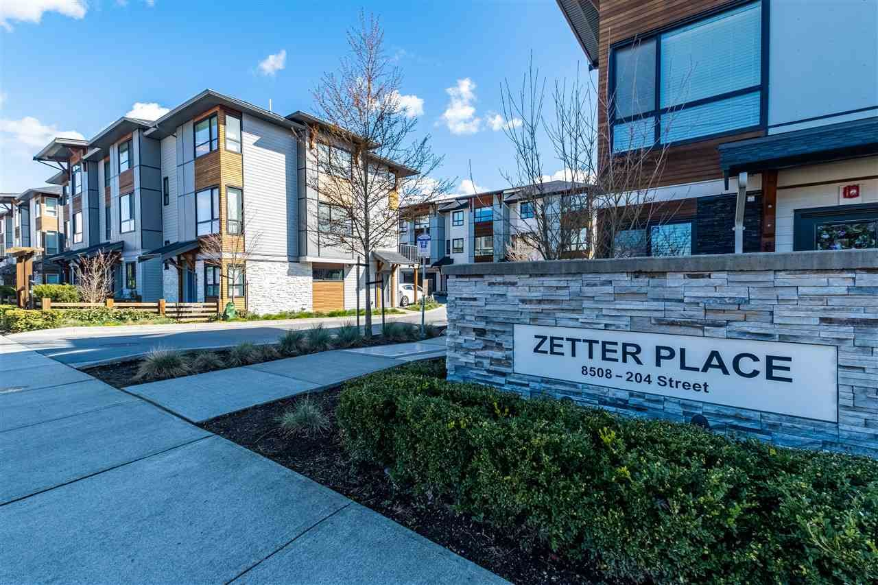 Main Photo: 32 8508 204 Street in Langley: Willoughby Heights Townhouse for sale : MLS®# R2561287
