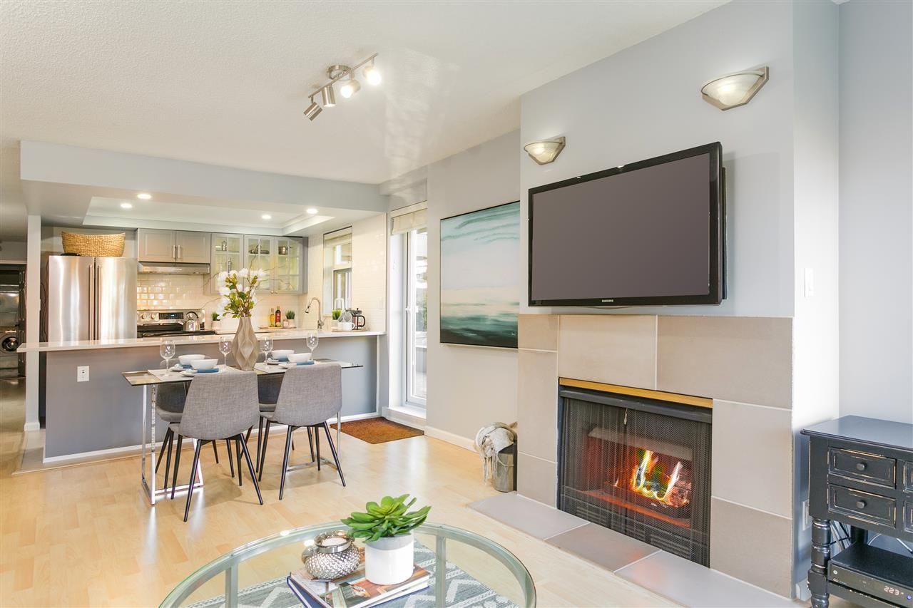 """Photo 7: Photos: 106 2428 W 1ST Avenue in Vancouver: Kitsilano Condo for sale in """"Noble House"""" (Vancouver West)  : MLS®# R2212887"""