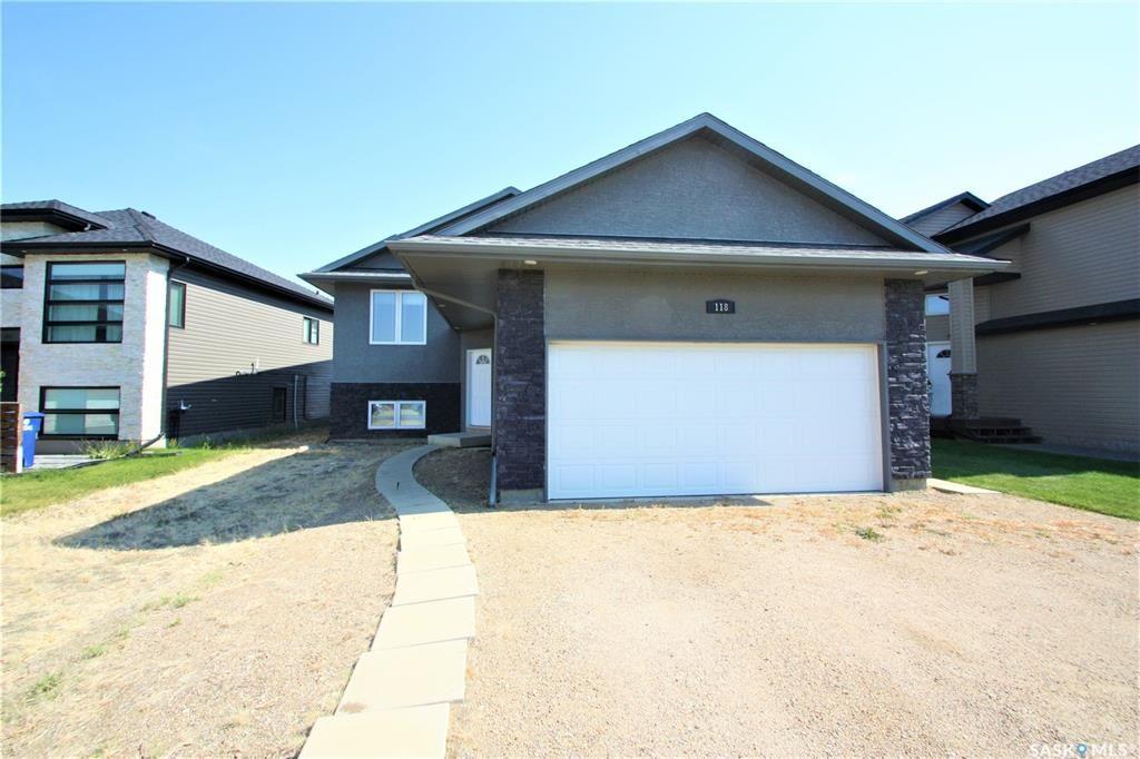 Main Photo: 118 Mahabir Crescent in Saskatoon: Evergreen Residential for sale : MLS®# SK824311