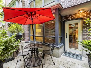 Photo 2: 100 1068 HORNBY STREET in Vancouver: Downtown VW Townhouse for sale (Vancouver West)  : MLS®# R2615995