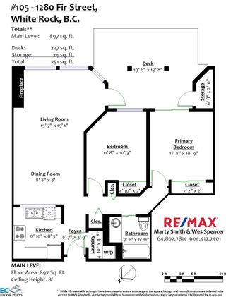 "Photo 34: 105 1280 FIR Street: White Rock Condo for sale in ""Oceana Villas"" (South Surrey White Rock)  : MLS®# R2616267"