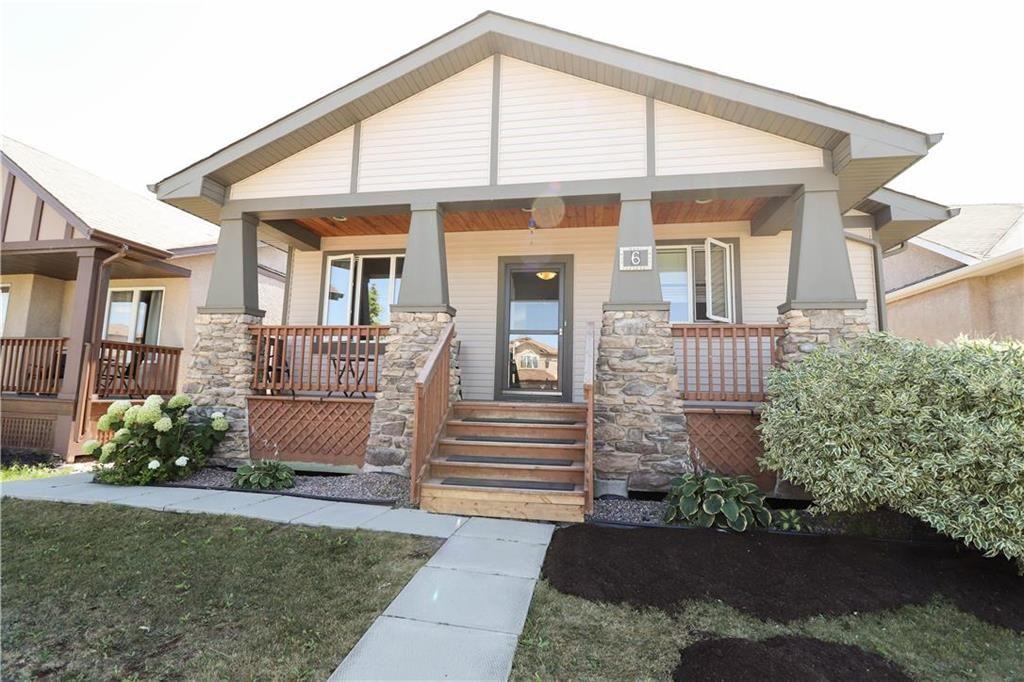 Main Photo: 6 Mary Andree Way in Winnipeg: Kildonan Green Residential for sale (3K)  : MLS®# 202019100