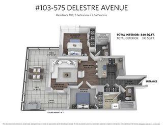"Photo 20: 103 575 DELESTRE Avenue in Coquitlam: Coquitlam West Condo for sale in ""Cora"" : MLS®# R2325617"
