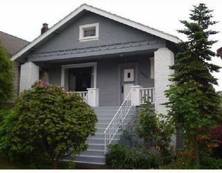 Photo 1: 2566 DUNDAS Street in Vancouver: Hastings East House for sale (Vancouver East)  : MLS®# V729591