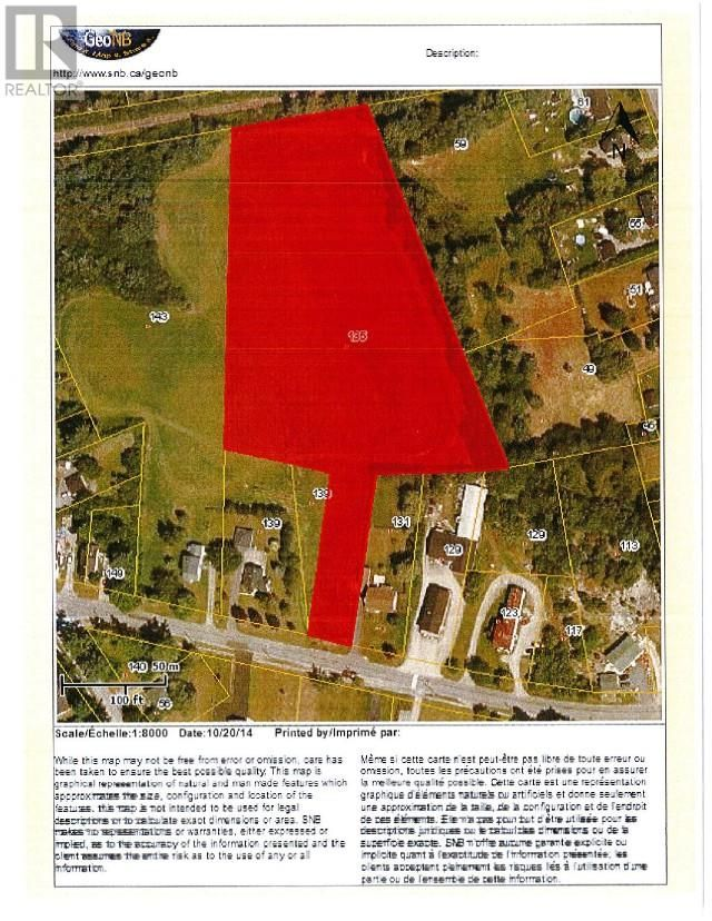 Main Photo: Lot Union Street in St. Stephen: Vacant Land for sale : MLS®# SJ165197