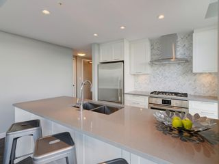 """Photo 3: 2602 520 COMO LAKE Avenue in Coquitlam: Coquitlam West Condo for sale in """"THE CROWN"""" : MLS®# R2342007"""