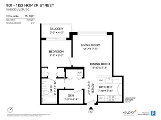 """Photo 3: 901 1133 HOMER Street in Vancouver: Yaletown Condo for sale in """"H&H"""" (Vancouver West)  : MLS®# R2470205"""