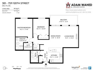 "Photo 21: 301 7511 120 Street in Delta: Scottsdale Condo for sale in ""ATIRA"" (N. Delta)  : MLS®# R2582928"