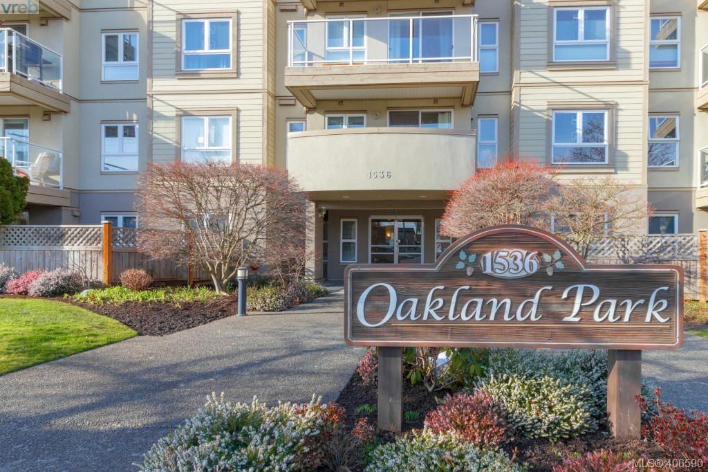 Main Photo: 202 1536 Hillside Ave in VICTORIA: Vi Oaklands Condo for sale (Victoria)  : MLS®# 808123