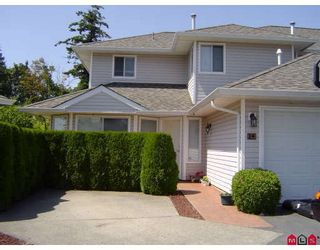 """Photo 1: 14 21928 48TH Avenue in Langley: Murrayville Townhouse for sale in """"MURRAYVILLE GLEN"""" : MLS®# F2915461"""