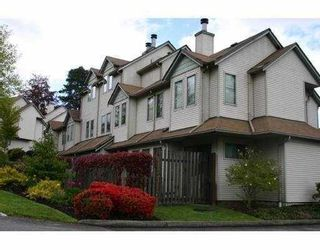 """Photo 1: 26 98 BEGIN Street in Coquitlam: Maillardville Townhouse for sale in """"LE PARE"""" : MLS®# V718679"""