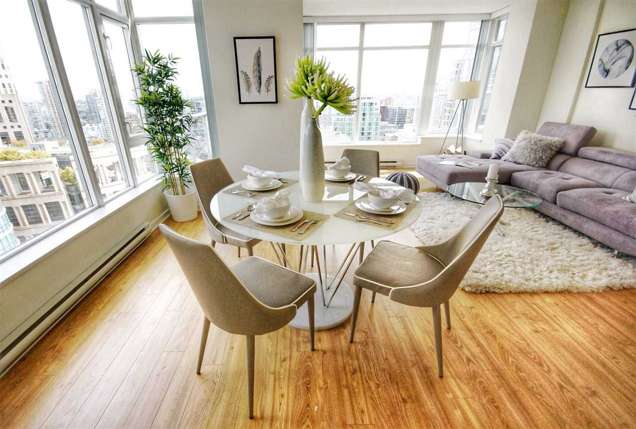 """Main Photo: 1803 480 ROBSON Street in Vancouver: Downtown VW Condo for sale in """"R + R"""" (Vancouver West)  : MLS®# R2304799"""