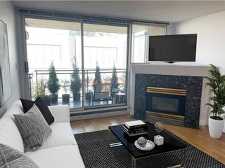 """Photo 1: 511 555 ABBOTT Street in Vancouver: Downtown VW Condo for sale in """"PARIS PLACE"""" (Vancouver West)  : MLS®# R2595361"""