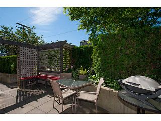 """Photo 18: 108 1823 W 7TH Avenue in Vancouver: Kitsilano Townhouse for sale in """"THE CARNEGIE"""" (Vancouver West)  : MLS®# V1073495"""