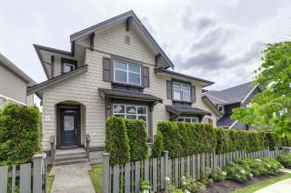 """Photo 1: 5 3400 DEVONSHIRE Avenue in Coquitlam: Burke Mountain Townhouse for sale in """"Colborne Lane by Polygon"""" : MLS®# R2487506"""