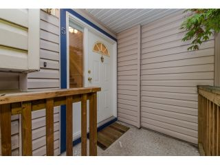 Photo 2: 5 2525 SHAFTSBURY Place in Port Coquitlam: Woodland Acres PQ Townhouse for sale : MLS®# R2013997