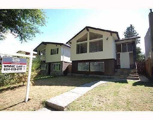 Main Photo: 3836 W 20TH AV in Vancouver: House for sale : MLS®# V808183