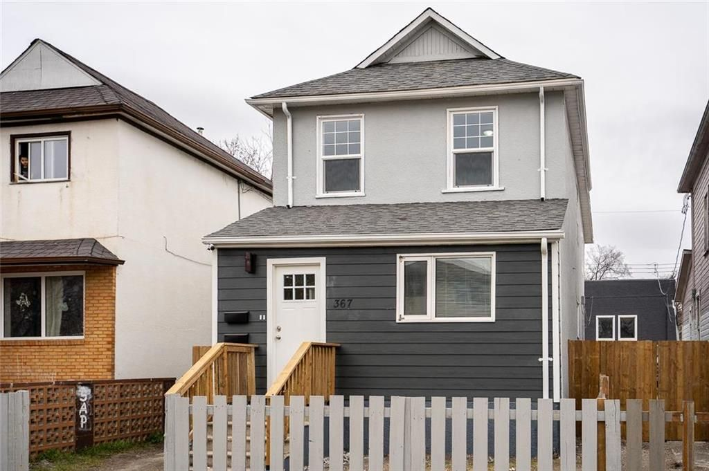 Main Photo: 367 Agnes Street in Winnipeg: West End Residential for sale (5A)  : MLS®# 202110420