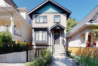 Photo 1: 3571 MARSHALL Street in Vancouver: Grandview Woodland House for sale (Vancouver East)  : MLS®# R2615173
