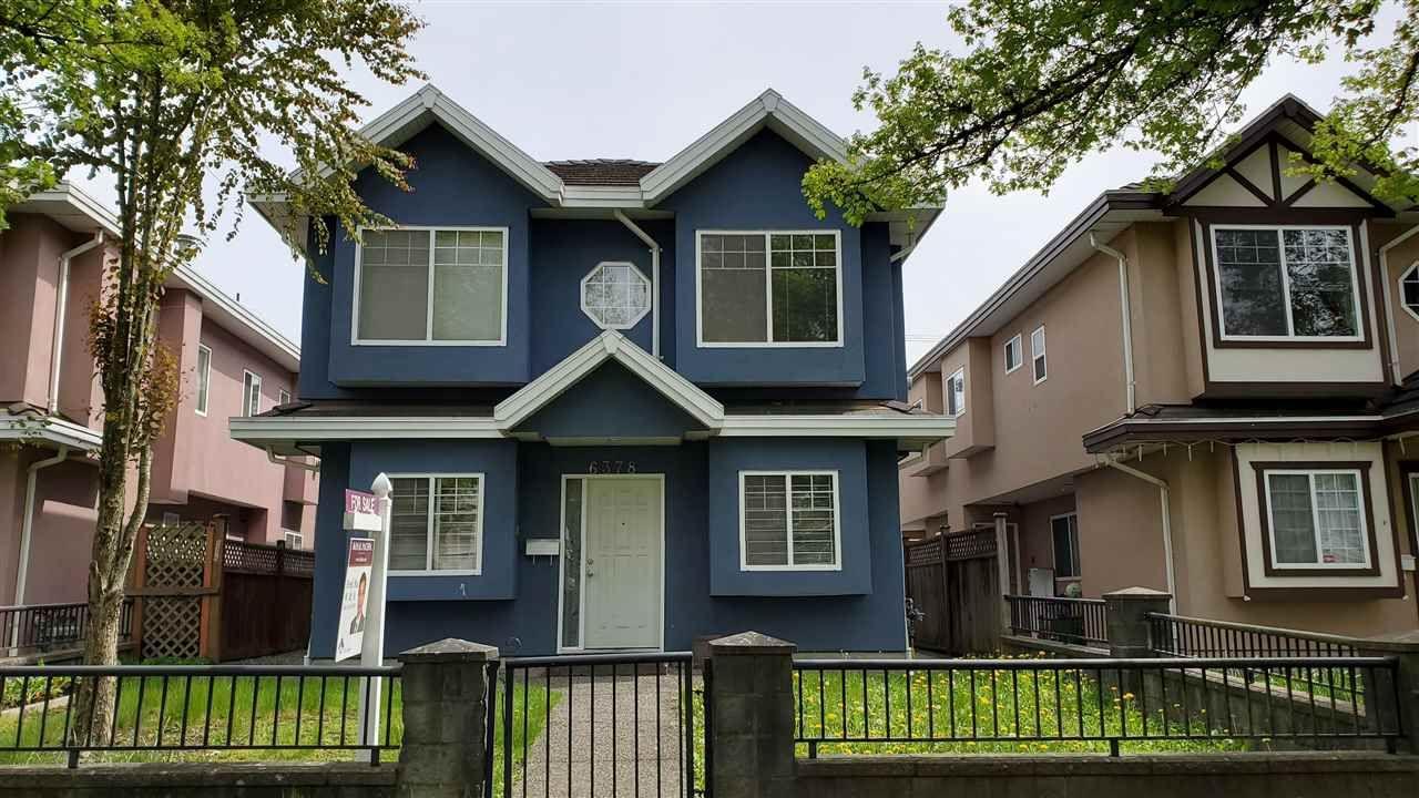 Main Photo: 6378 BEATRICE Street in VANCOUVER: Killarney VE Duplex for sale (Vancouver East)  : MLS®# R2573663