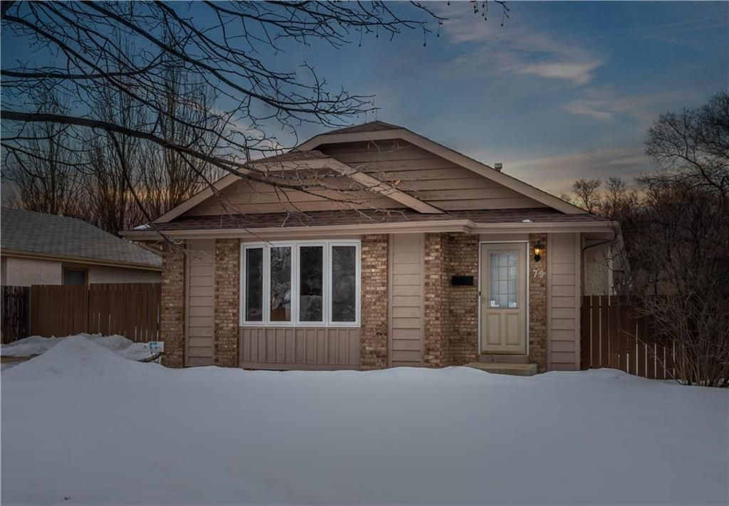 Main Photo: 79 Reay Crescent in Winnipeg: Valley Gardens Residential for sale (3E)  : MLS®# 202005941