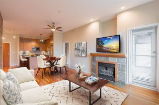 """Photo 1: 208 250 SALTER Street in New Westminster: Queensborough Condo for sale in """"PADDLERS LANDING"""" : MLS®# R2542712"""