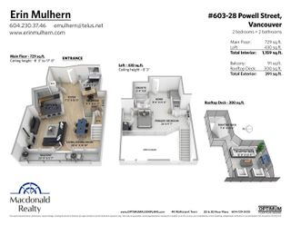 Photo 30: 603 28 POWELL Street in Vancouver: Downtown VE Condo for sale (Vancouver East)  : MLS®# R2620664