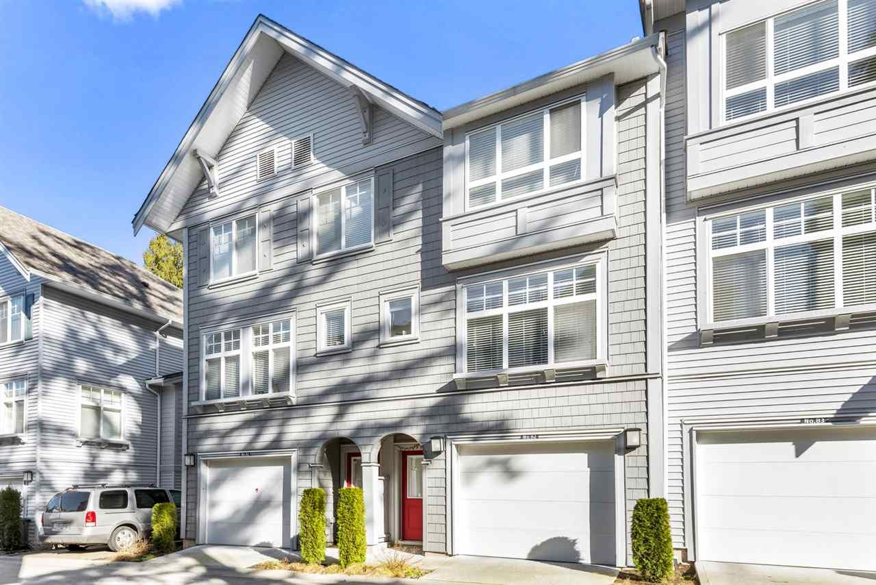 "Main Photo: 82 5858 142 Street in Surrey: Sullivan Station Townhouse for sale in ""Brooklyn Village"" : MLS®# R2543477"