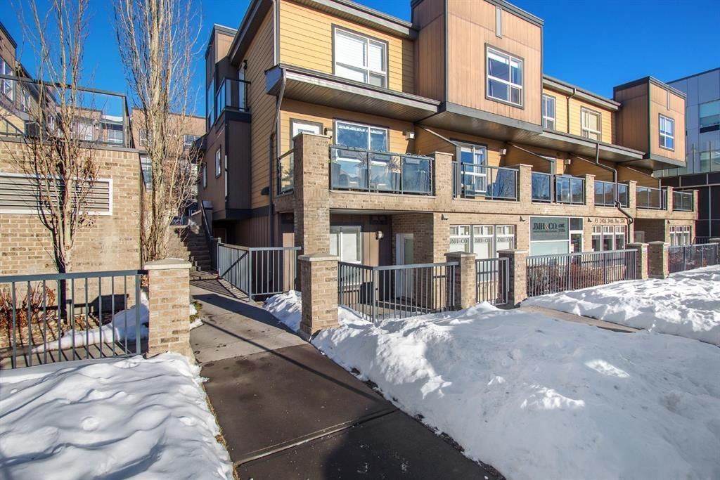 Main Photo: 107 2416 34 Avenue SW in Calgary: South Calgary Row/Townhouse for sale : MLS®# A1054995